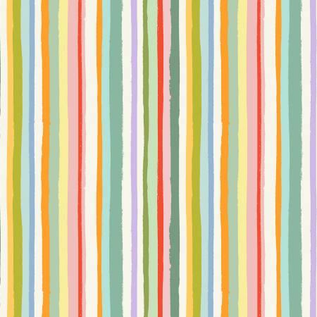 Michael Miller City Hoppers DC9177 Cream Magical Stripe