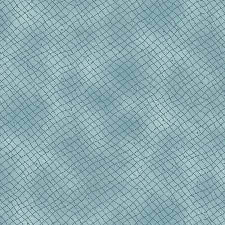Teal Linen Lines