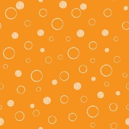 Under the Sea Orange Sea Bubbles