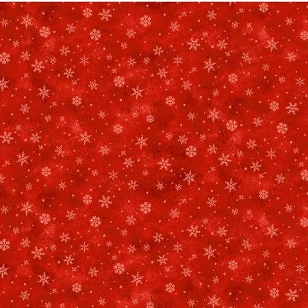 Red Snowflake Kisses