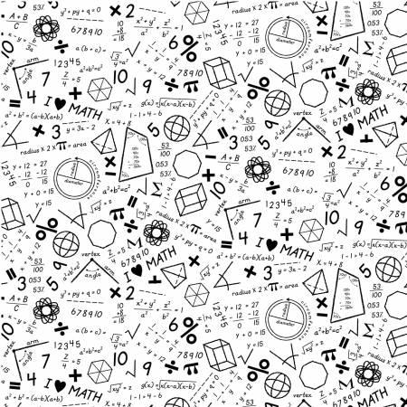 Stem Squad- White Math by Michael Miller