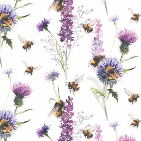 Digital Cuddle Bee Garden Amethyst-60