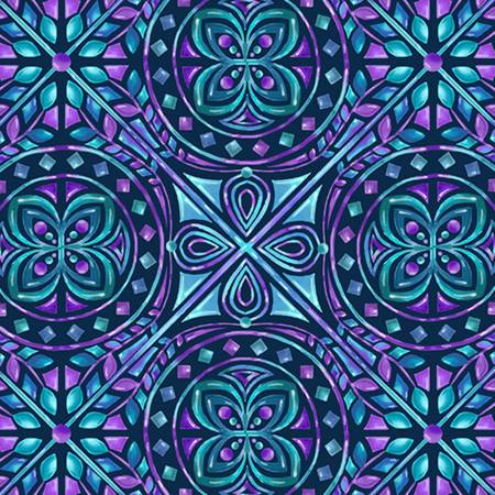Viola Mosaic Digital Cuddle