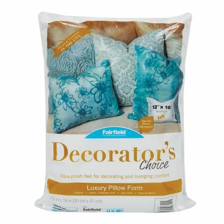 Decorator's Choice Luxury Pillow Form - 12x16
