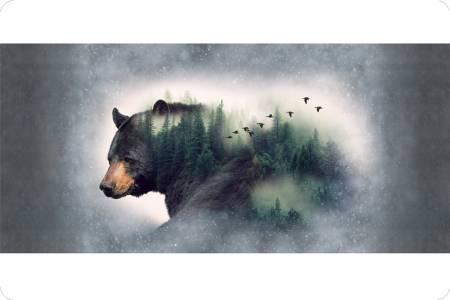 Bear Cuddle Panel