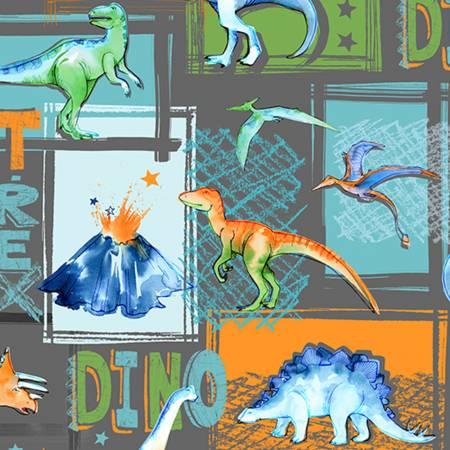 Graphite T-Rex Digital Cuddle