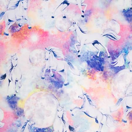 Digital Cuddle Unicorn Skies Vivid