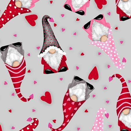 Scarlet Valentine Gnomes Digital Cuddle