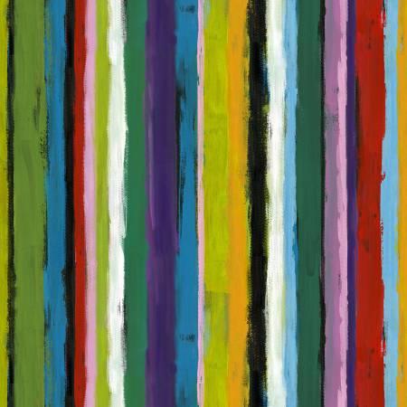 Teal Painter's Stripe