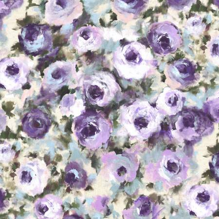 Dreaming of Tuscany DCX9264 Purple Regal Roses
