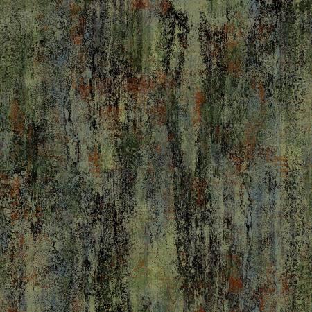 Green Stone Wall Digitally Printed