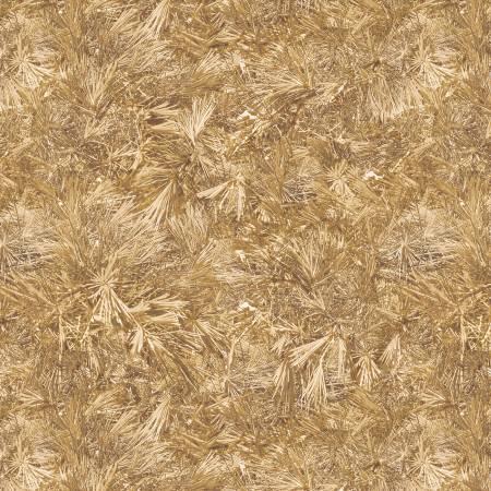 Gold Falling Pines Digitally Printed