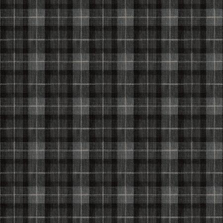 Michael Miller Lumber Checks DCX9302-Blac-D Black