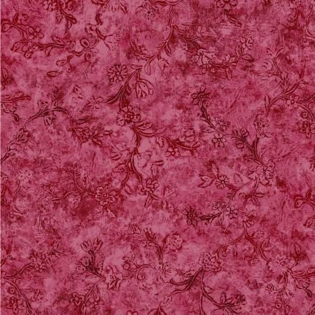 Victoria's Garden Red Venetian Wall Digitally Printed