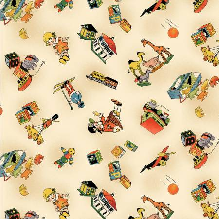 Vintage Treasures Toy Story Kids Fabric