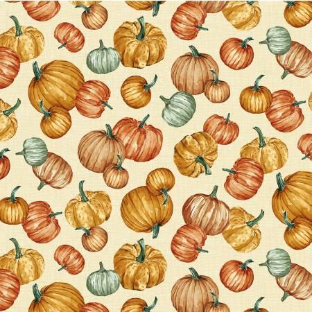 Cream Pumpkins