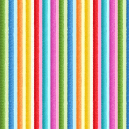 Greetings From... Multi Rainbow Stripe