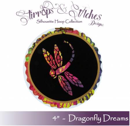 Dragonfly Dreams 4in Hoop Kit