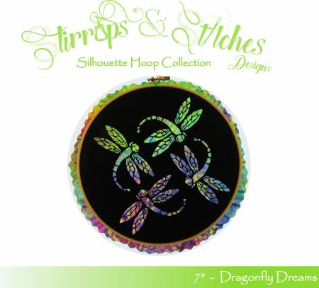 Dragonfly Dreams 7in Hoop Kit