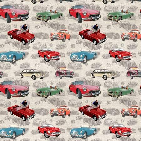 MG Cars  Allover Cream