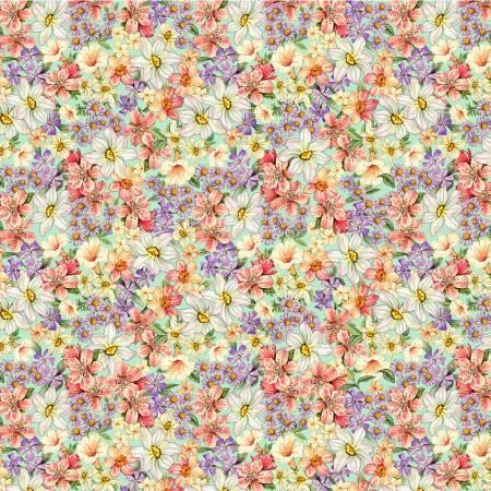 Flower Fairies Garden Green