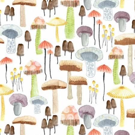Mellow Mushrooms White