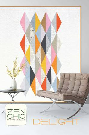 Delight Quilt Pattern - Zen Chic