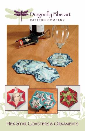 Hex Star Coasters & Ornaments