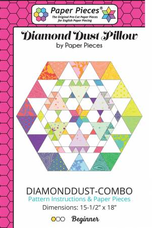 Diamond Dust Pillow Pattern and Piece Pack