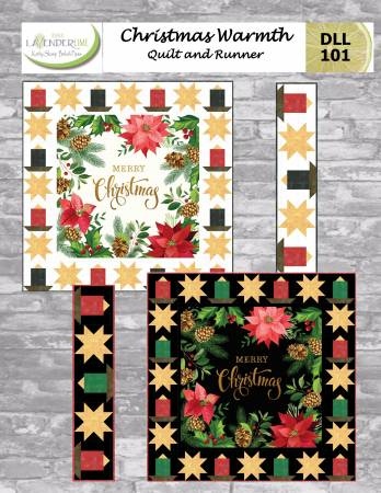 Christmas Warmth Quilt and Runner Pattern Booklet