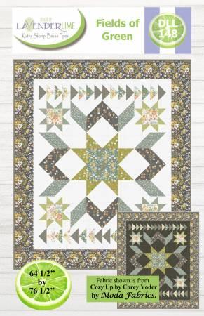Fields of Green Quilt KIT 64 1/2 x 76 1/2