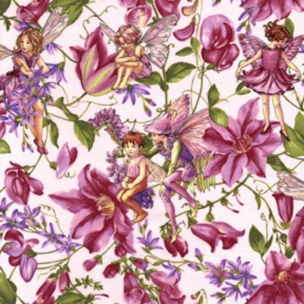 Purple Magical Garden Fairies