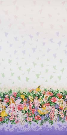 Blossom Fairy Dream Border w/Metallic