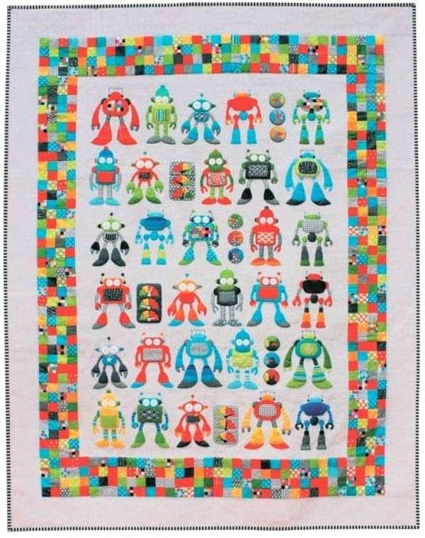Robot Riot Pattern