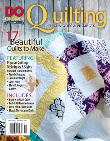 BK DO Magazine Presents Quilting Techniques and Projects