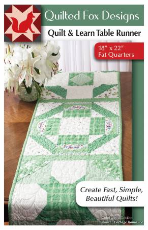 Quilt & Learn Table Runner Pattern