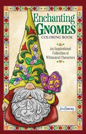 Enchanting Gnomes Coloring Book (pre-order) October