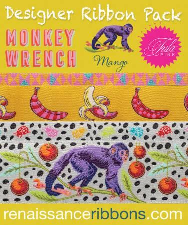 Monkey Wrench/Mango (Ribbon Pack) (Tula Pink)