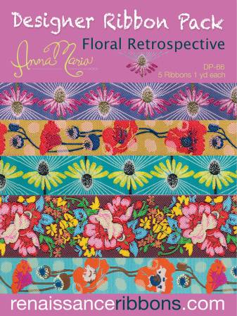 Anna Maria Horner Retrospective Floral Designer Ribbon Pack