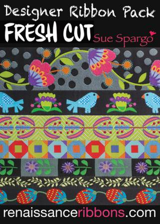 Sue Spargo  Designer Ribbon Pack /Fresh Cut