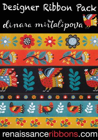 Renaissance Ribbons Dinara Mirtalipova Ribbon Pack #DP-84