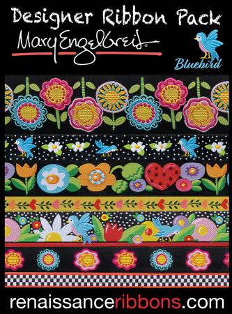 Mary Engelbreit Blue Bird Designer Ribbon Pack#DP-85