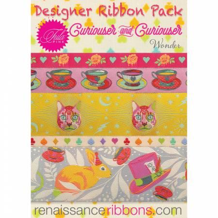Tula Pink Curiouser  Wonder Designer Ribbon Pack