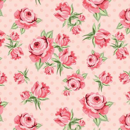 Dots and Posies Blush Prize Roses