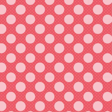 Dots and Posies Blush Dots on Dots