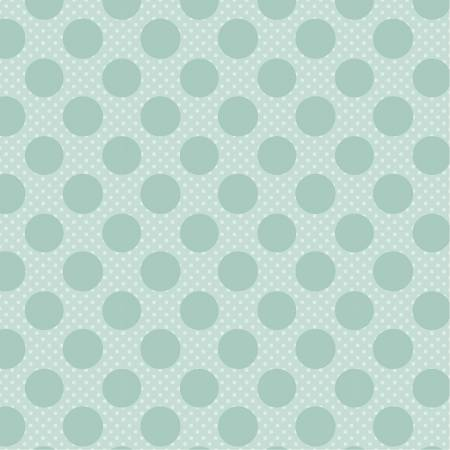 Dots and Posies Teal Dots on Dots DP20417