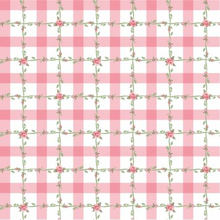 Dots and Posies Pink Criss Cross DP20419