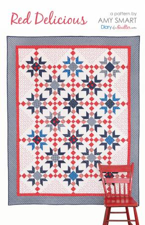 Red Delicious Quilt Pattern-Diary Of A Quilter