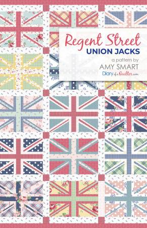 Regent Street Union Jacks pattern