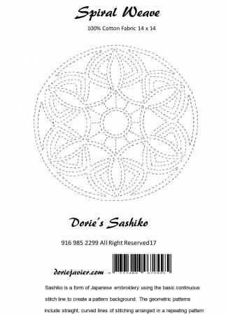 Dorie's Sashiko - Spiral Wave